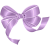 Light Purple Bow  Transparent image #44516