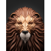 Lion 3d Animal image #22317