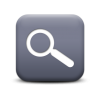 Magnifying Glass Save Icon Format image #26756