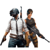 Male And Female Players From The Game Pubg image #48217