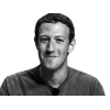 Mark Zuckerberg  Black White image #44944