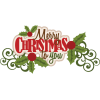 Collection Merry Christmas  Clipart image #27749