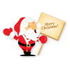 High Resolution Merry Christmas  Clipart image #27731