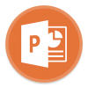 Microsoft Powerpoint 2 Icon image #43936