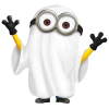 Minions Ghost Minion Boo Scary image #42203