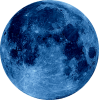 Moon   Blue Hd Transparent image #44682