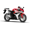 Motorcycle Red Sports Motor image #20327