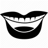 Mouth And Tongue Icon image #14301