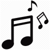 Free Music Note Vector image #34253