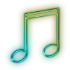 Music Note Transparent Icon image #34258