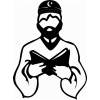 Muslim, Man, Islamic Symbols Icon image #13201