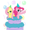 My Little Pony Birthday Celebration Cake  Picture image #47139