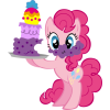 My Little Pony With Cake Designs image #47125