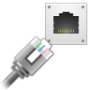 Network Cable Icon Free image #15497