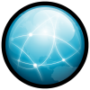 Network Icon | Gloss Mac Iconset | Hopstarter image #1874