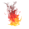 New Fire Transparent image #4862