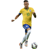 Neymar Football Render Athlete image #44982