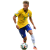 Neymar Football Render  Transparent thumbnail 44969