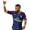 Neymar Football Render Transparent image #44979