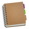 Icon Notepad Vector image #17532