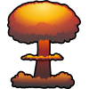 Pictures Free Nuclear Explosion Clipart image #30059