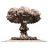 Nuclear Explosion  Transparent image #30071