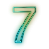 Number 7 Drawing Icon image #24841