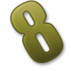 Icon Vector Number 8 thumbnail 24871