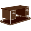 High Resolution Office Table  Clipart image #31957