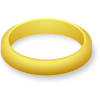One Wedding Ring Clipart image #45289