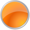 Orange Circle Icon image #16070