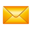 Orange Envelope Icon image #18246