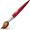Vector Paint Brush Icon image #9032