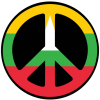 Free Download Of Peace Sign Icon Clipart image #19831