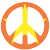 Transparent Peace Sign image #19824