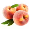 Peach Fruits With Leafs  Image image #41692
