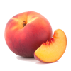 Peach  Transparent Photo image #41684