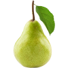 Pear Fruit With Leaf image #38691