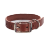 Photos And Metal Dog Collar Belt Dark Brown image #48133