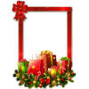Picture Frame Christmas Ornaments Transparent image #47100