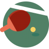 Icon Vector Ping Pong image #39423