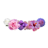 Pink And Purple Flower Crown image #42599