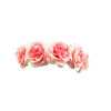 Pink Flower Crown image #42590