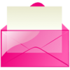 Free Icon Pink Message Download Vectors image #12045