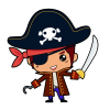 Download  Free Vector Pirate image #35012