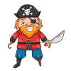 Clipart Pirate Download image #35013