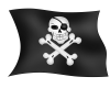 High Resolution Pirate  Clipart image #35016
