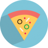 Free Download Vectors Pizza Icon image #25594