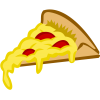Pizza Slice Cartoon image #19326