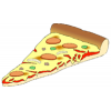 One Slice Cartoon Pizza image #19362